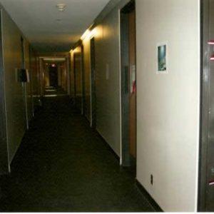Hallway - west view